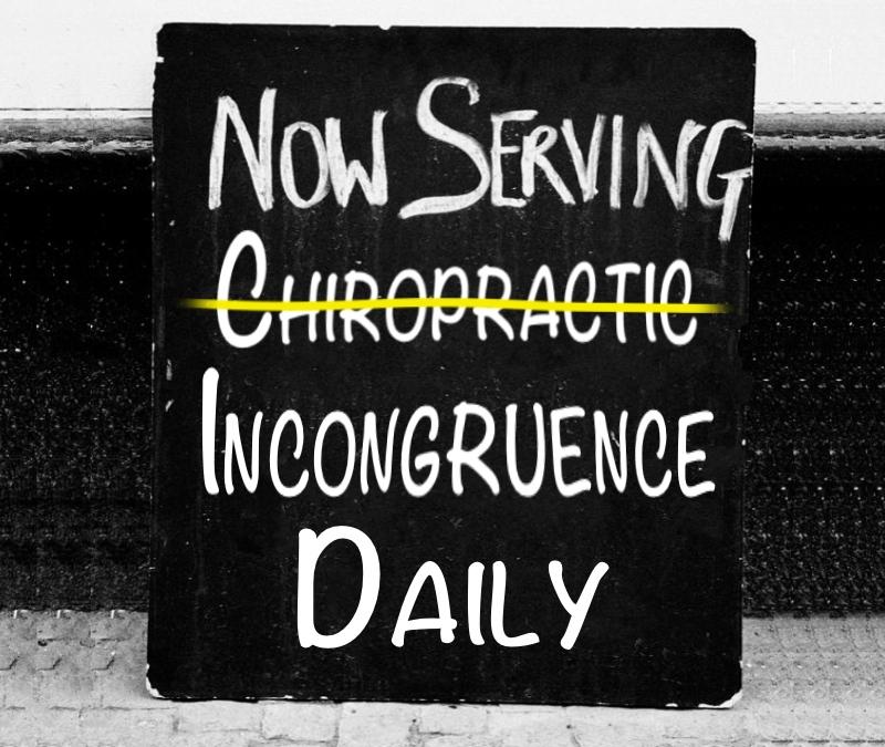 Chiropractic Incongruence