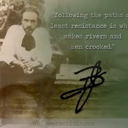 Following the Paths of Least Resistance BJ Palmer