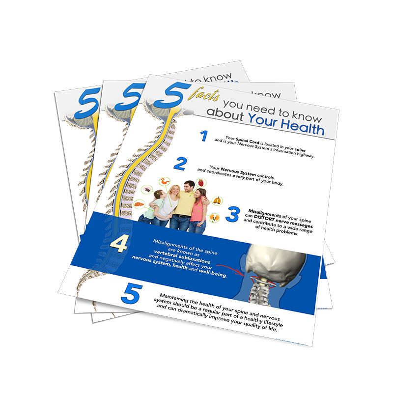 Chiropractic Subluxation Poster Handouts