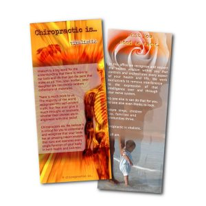 Vitalistic Chiropractic Brochure