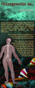 Chiropractic is scientific - Chiropractic brochure