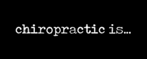 chiropractic is... logo