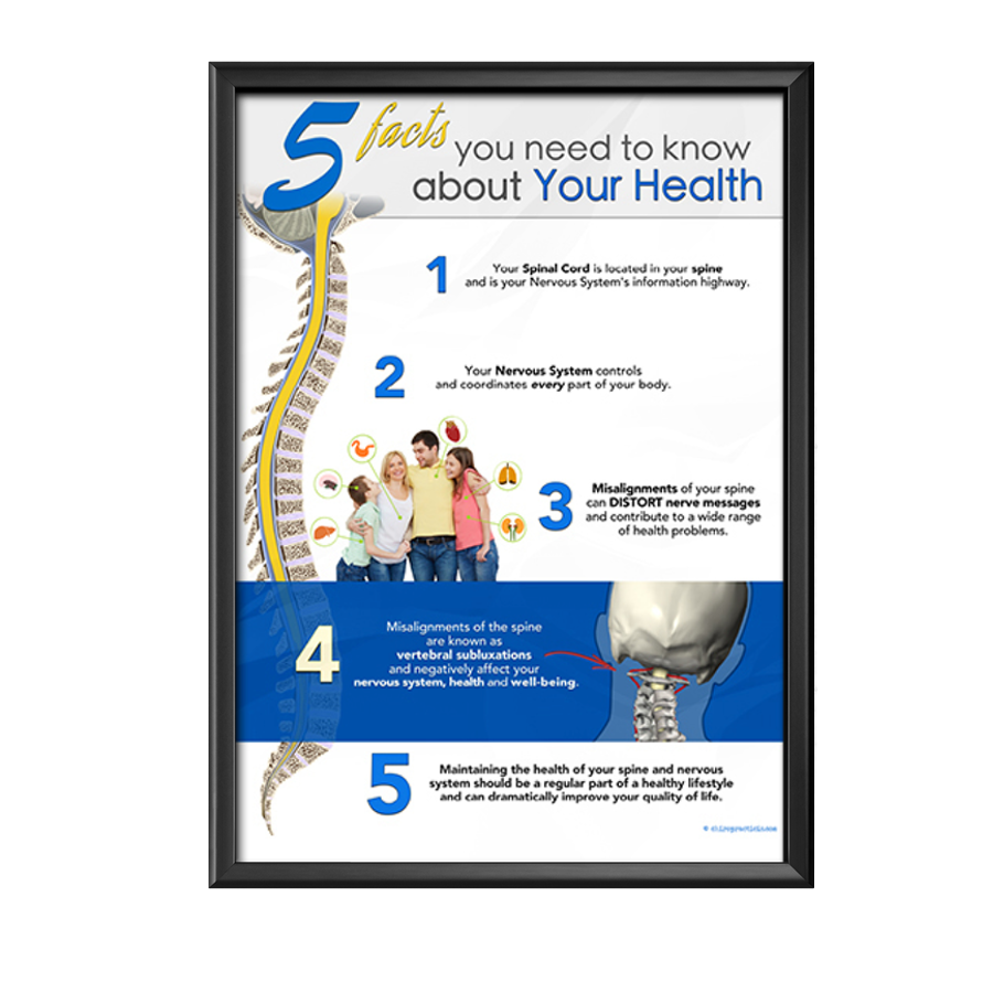 Chiropractic Subluxation Poster