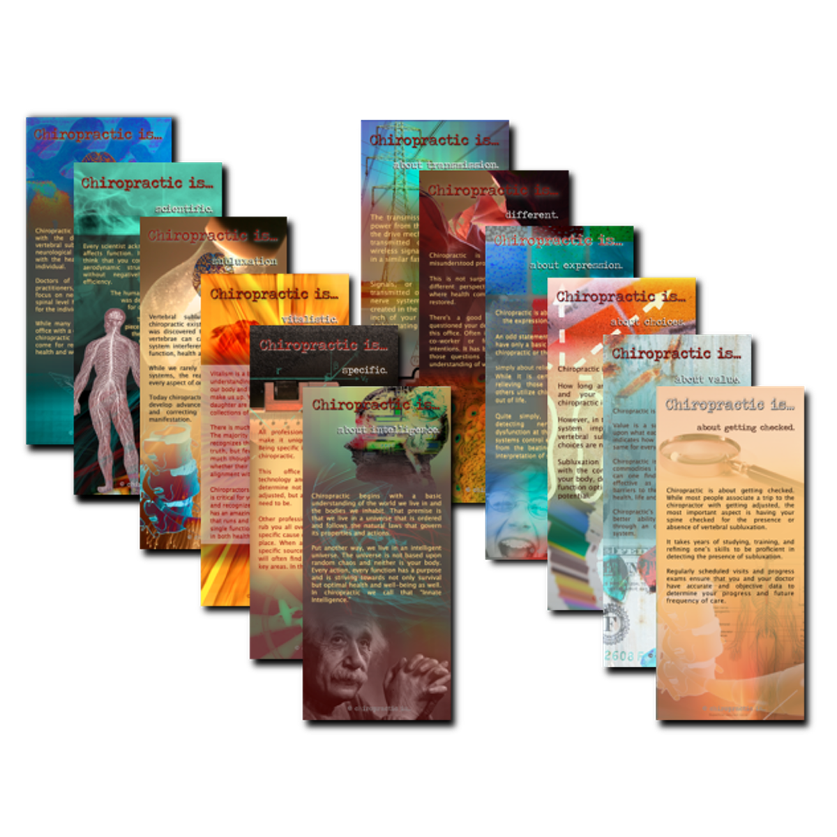Chiropractic brochures patient education