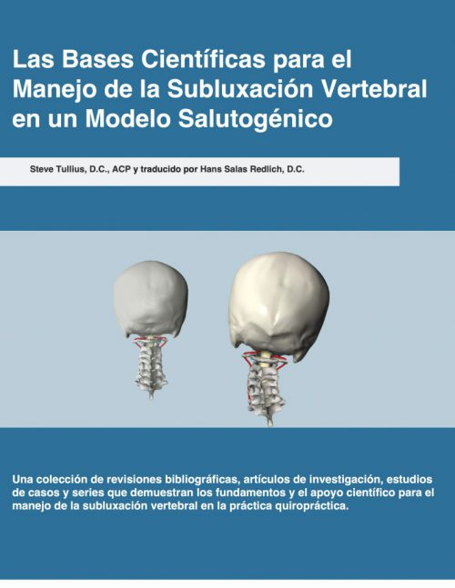 SPANISH The Scientific Basis for the Salutogenic Management of Vertebral Subluxation ebook cover copy